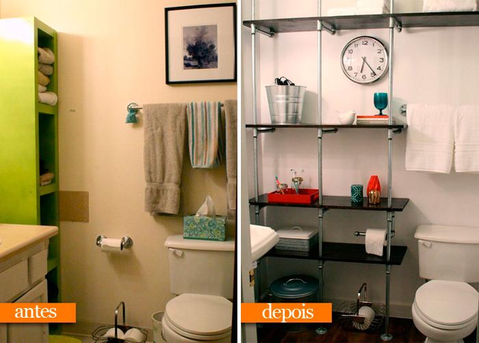 Pequenas reformas no apartamento que o deixam mais bonito e valorizadoblog da -> Reforma Banheiro Pequeno Antes E Depois