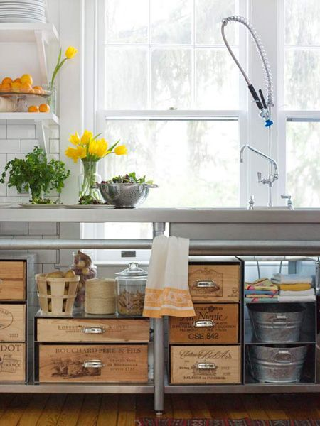 6 ideias para organiza o da cozinhablog da propriet riodireto - Como organizar un armario pequeno ...
