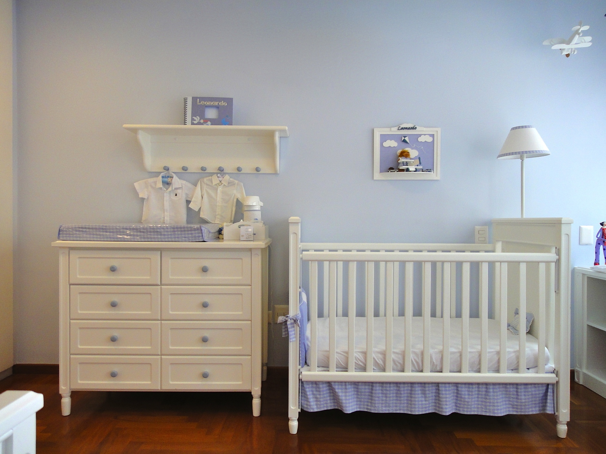 Dicas De Decora O Para O Quarto De Beb Blog Da Propriet Riodireto ~ Decoração De Quarto De Bebe Simples Com Papel De Parede