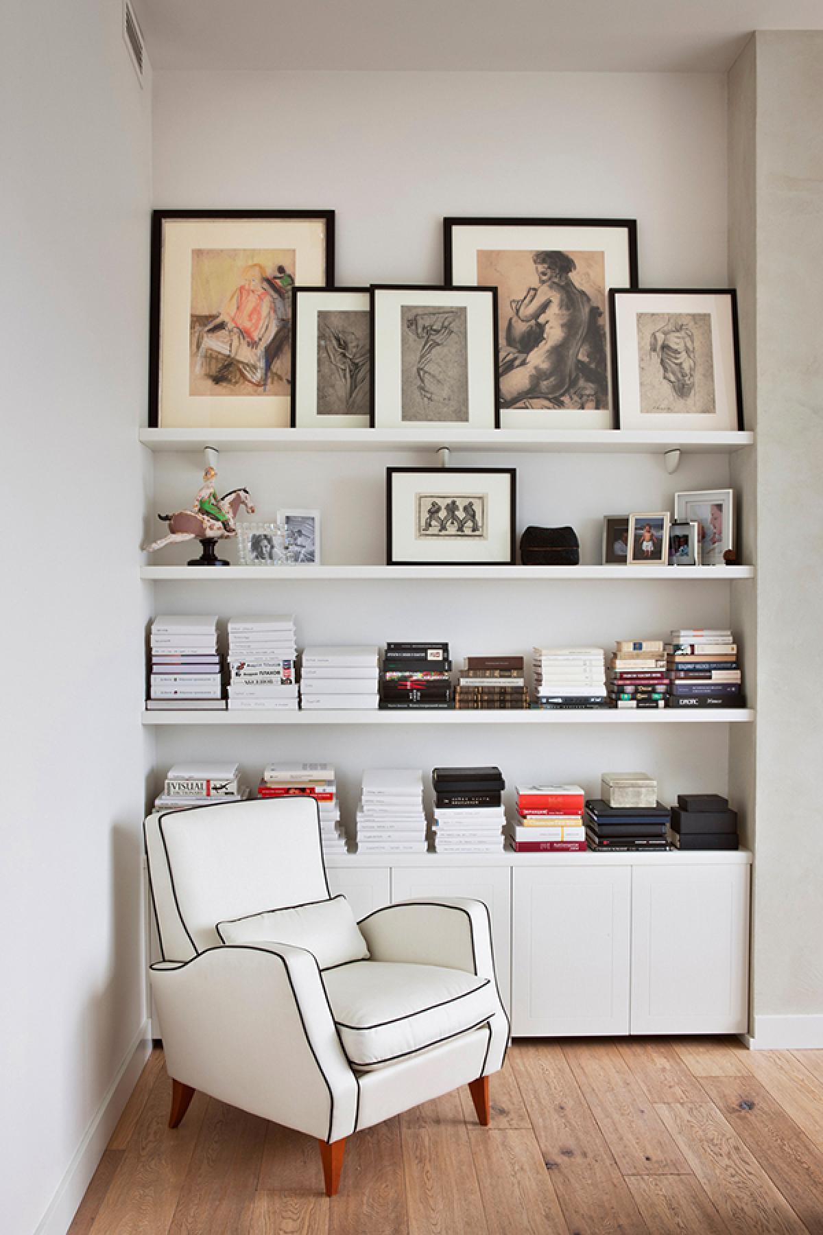 Ideias De Decora O Para Uma Biblioteca Em Casablog Da  -> Sala De Tv E Biblioteca