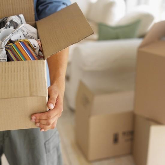 Organize seu imóvel quando colocá-lo a venda. Vai ajudar você a deixá-lo mais atrativo para os compradores, e pronto para a mudança.
