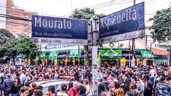 A Vila Madalena é um dos maiores redutos boêmios de São Paulo.