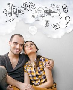 Morar em casa ou apartamento?