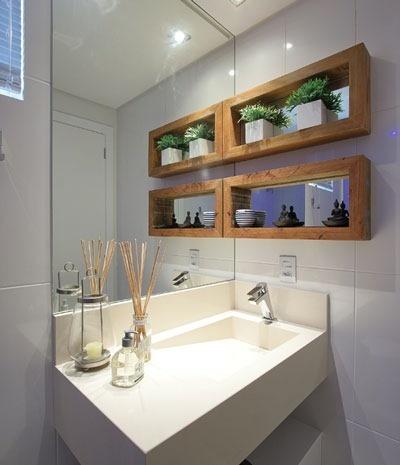 plantas banheiro