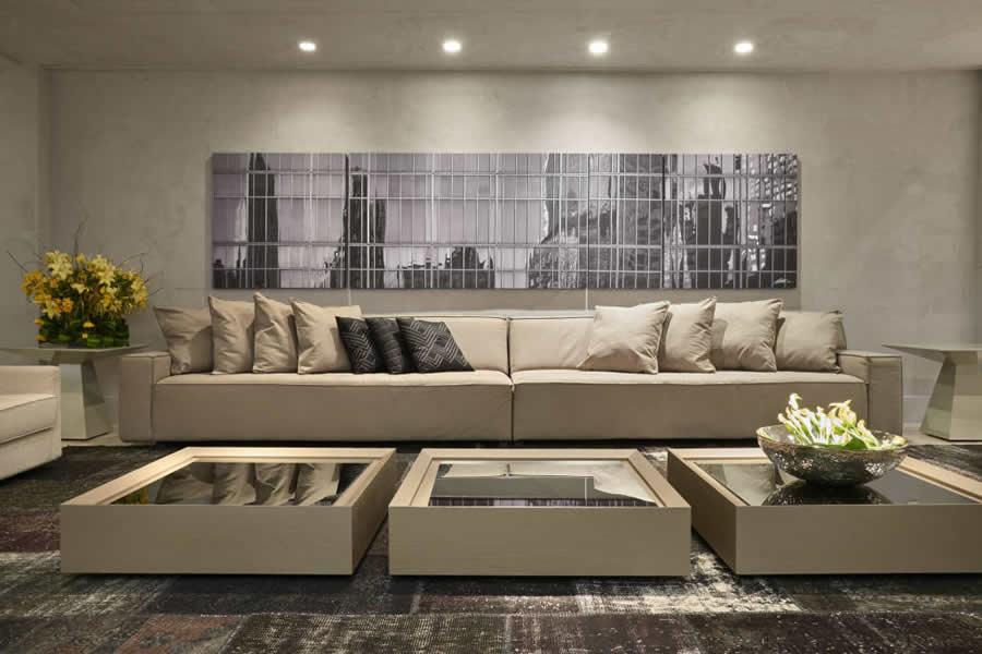 Quadros Grandes Para Sala De Estar ~ Dicas de decoração para salas de estar espaçosasblog da
