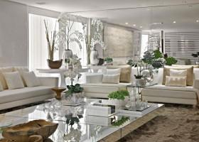 Dicas de decoração para salas de estar espaçosas