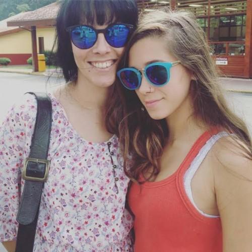 Fabiola e filha